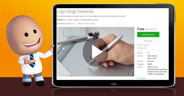 [100% Off] Logo Design Essentials| Worth 20$