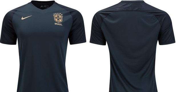 db8defc8a2 A Seleção Brasileira deve lançar seu terceiro uniforme ainda este mês.  Nesta quinta-feira (23)