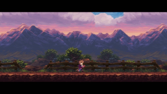 Chasm - graphics almost look romantic