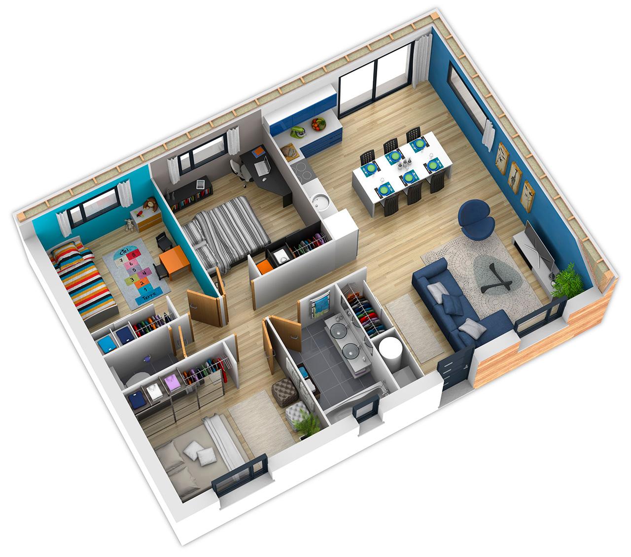 Planos de casas como dise ar mi casa proyectos de casas for Disenar mi casa gratis