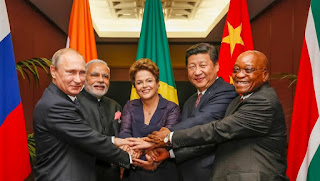 The BRICS leaders call for a permanent solution to the Syrian issue and conflicts in the Middle East