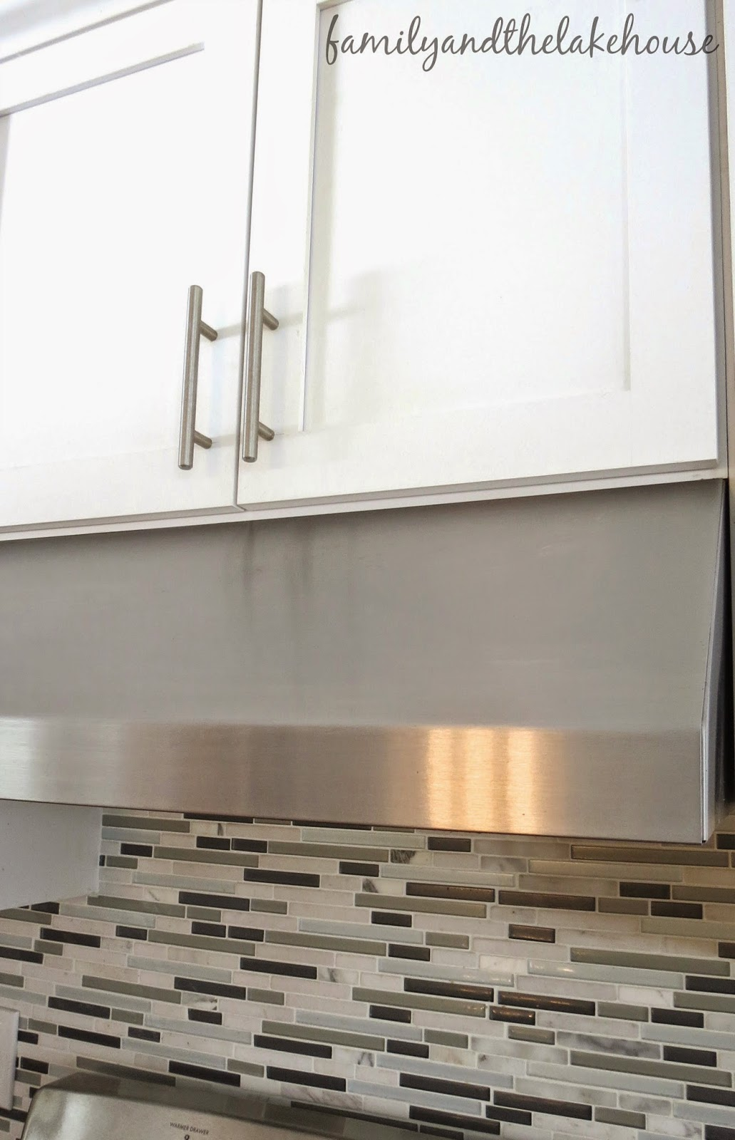 Family and the Lake House - How to clean your kitchen range hood