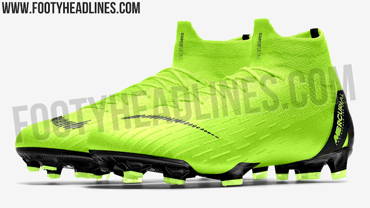 new product ec867 5ecbf Volt Nike Mercurial Superfly VI 'Fury' 2018-19 Boots ...