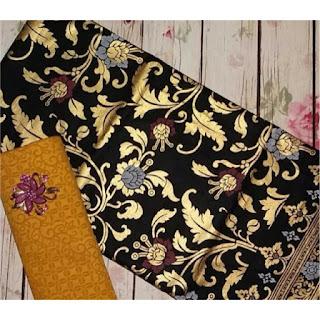 Kain Batik dan Embos 494 motif prada