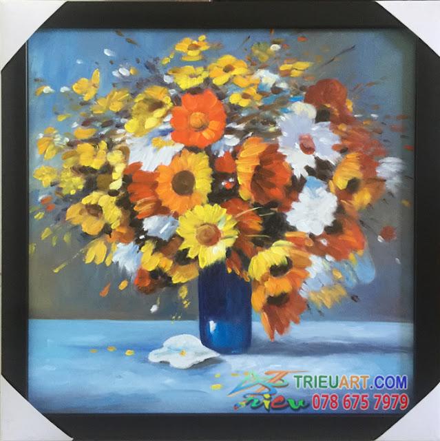 Bộ tranh tĩnh vật hoa