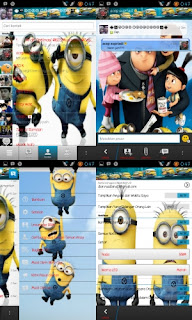 Download Tema BBM MOD MINION Lucu Terbaru | For Android