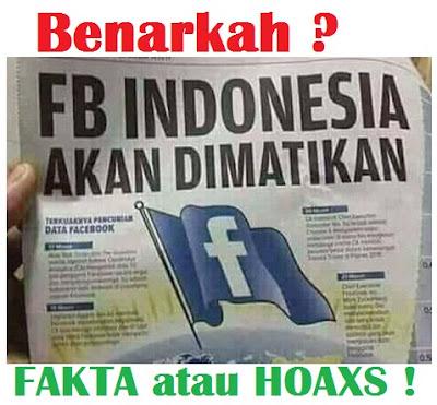 Facebook akan di blokir