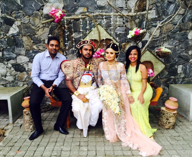 Geethika Rajapaksha Wedding Day
