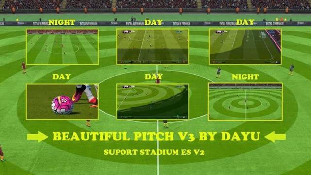 PES 2016 New Beautiful Pitch