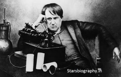 Thomas Edison Biography, Age, Inventions, Family in Hindi - थॉमस एडिसन की जीवनी