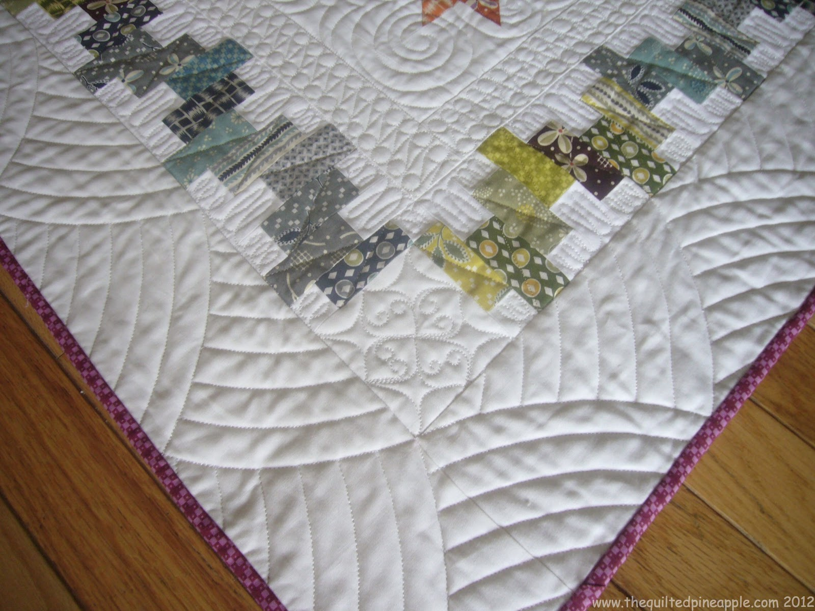 quilting templates for borders - the quilted pineapple bounce
