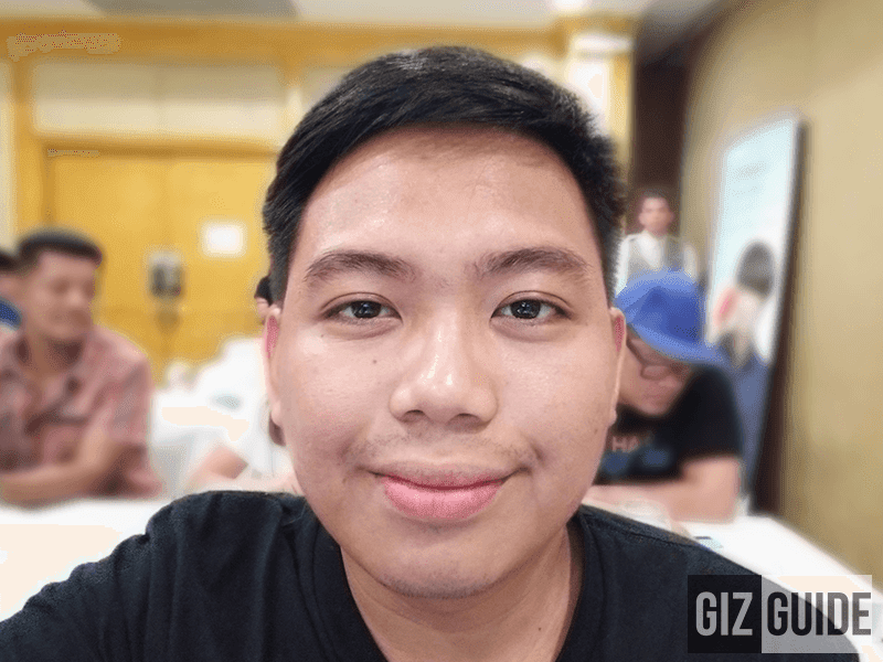 Portrait mode selfie