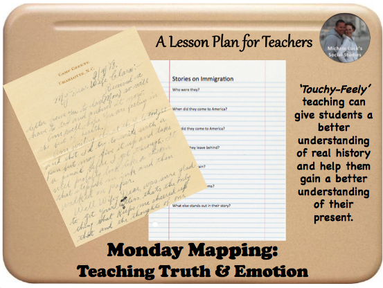 Teaching students to view history for truth and emotion can help them see into the lives of those who lived through the experience. Use these great ideas to infuse a deeper understanding of history in your middle or high school classes. #teaching #socialstudies #history