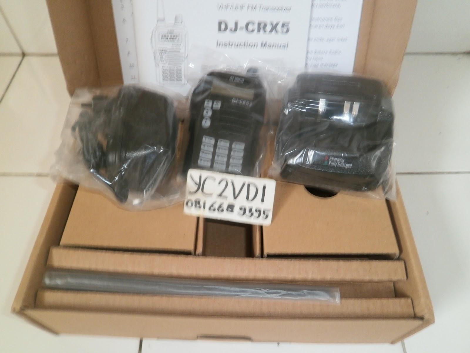 Sinar Agung ( Y C 2 V D I ): HT ALINCO DJ CRX 5 DUAL BAND