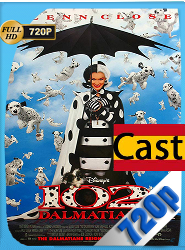 102 Dalmatians (2000) HD [720p] castellano [GoogleDrive] MacacoupHD