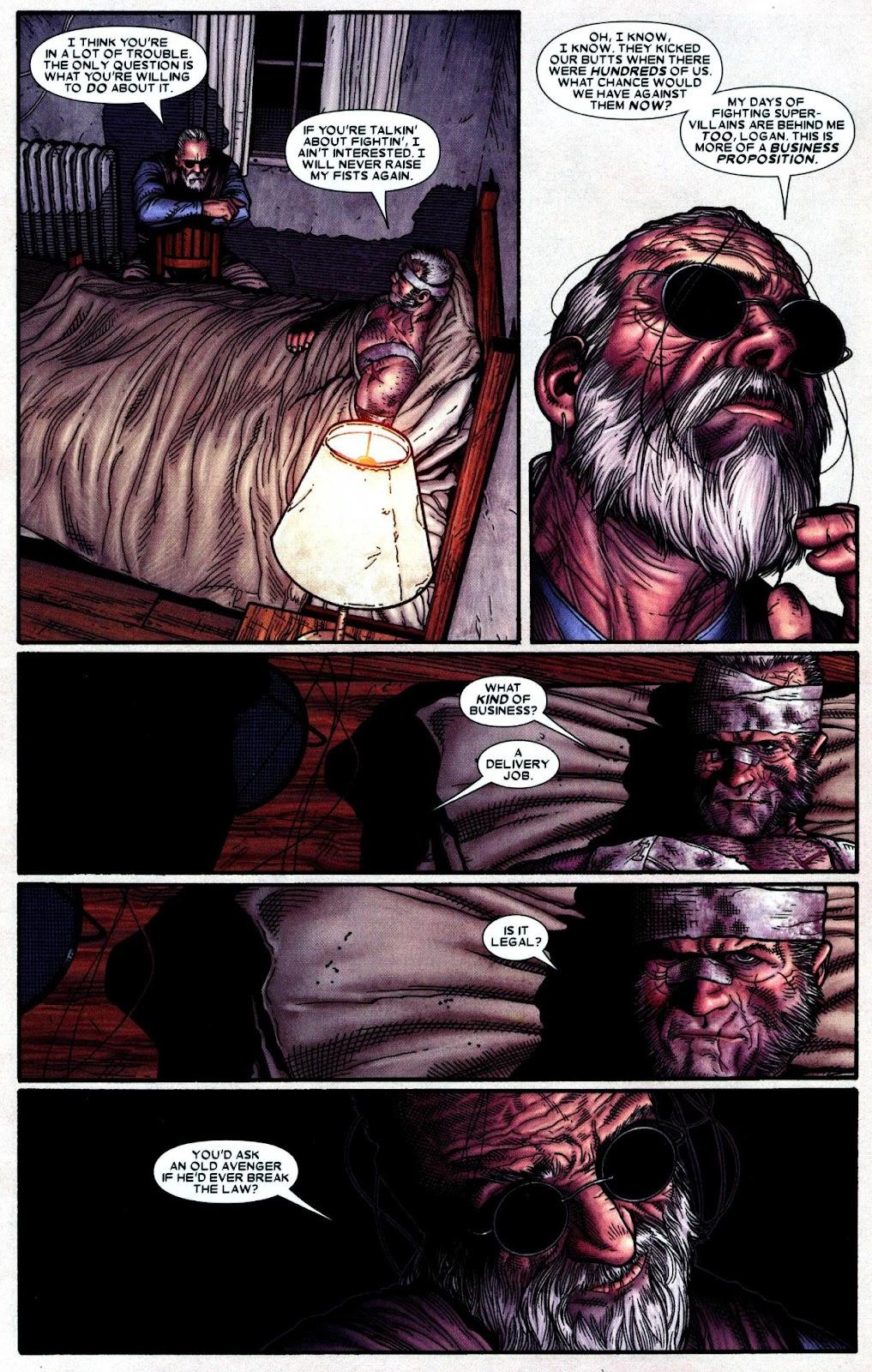 Read online Wolverine (2003) comic -  Issue #66 - 18