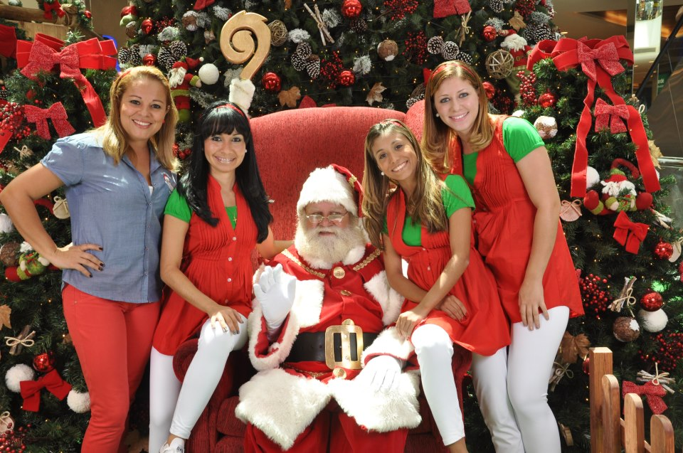 Fotos Simpaticas De Papa Noel.Escola De Papai Noel Do Brasil Chegada De Papai Noel