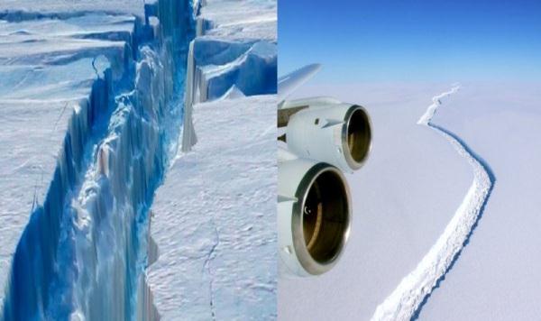 VIDEO explicativo Iceberg de 5,800 km2 se separó de la Antártida