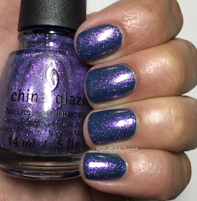 China Glaze; Fall 2016 Rebel Collection - Don't Mesh With Me