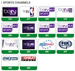 TSTV sports channels