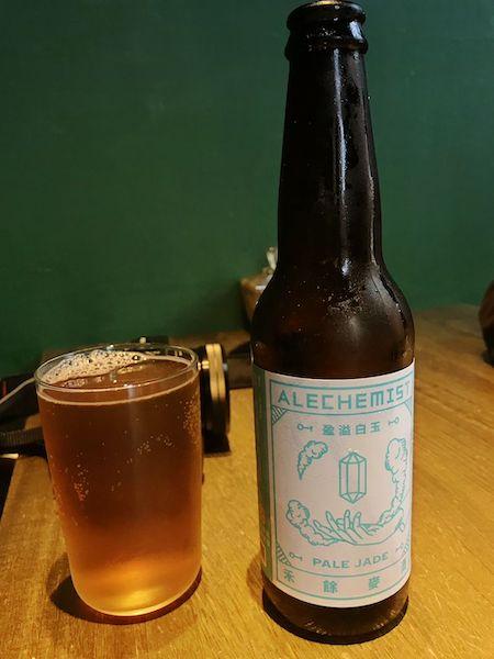台湾の地ビール(ペイルエールビール)