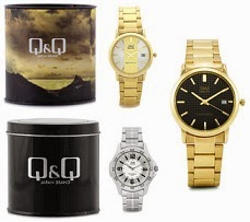 Flat 31% Off on Q&Q Men's & Women's Watches just for Rs.749 Only @ Flipkart (Limited Period Offer)