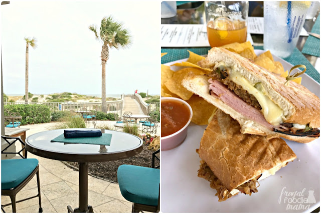 Ocean Bar & Grill has a casual, laid back vibe with a menu that reflects that. From tacos to flatbreads to delicious sandwiches and fruity libations, Ocean is perfect for both couples and families looking to grab a bite to eat before heading out for a day at the beach.
