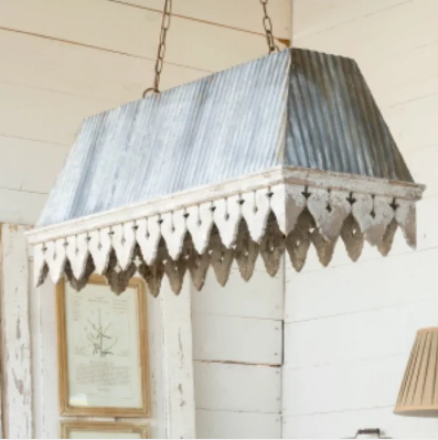 old porch pendant light