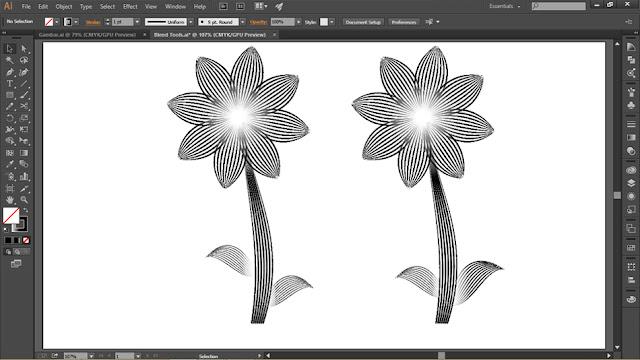 Menit Mahir Blend Tools Di Adobe Illustrator Untuk Desain Vektor 5 Menit Mahir Blend Tools Di Adobe Illustrator Untuk Desain Vektor