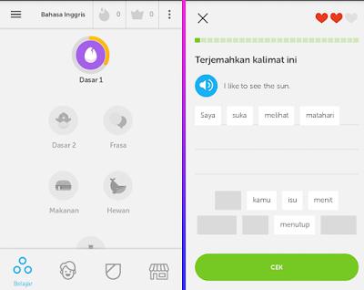 Cara Cepat Belajar Bahasa Inggris Menggunakan Aplikasi Android