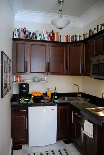 Happyroost Interiors: Tuesday Tutorial: How to Style the Space - Decorating Tips For Above Kitchen Cabinets