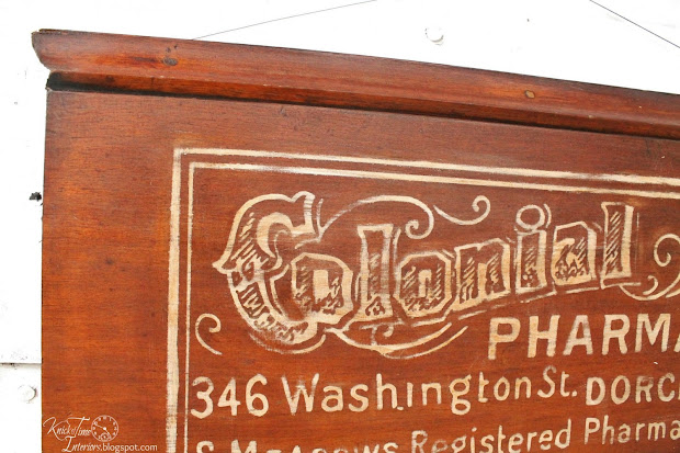 Antique Pharmacy Signs