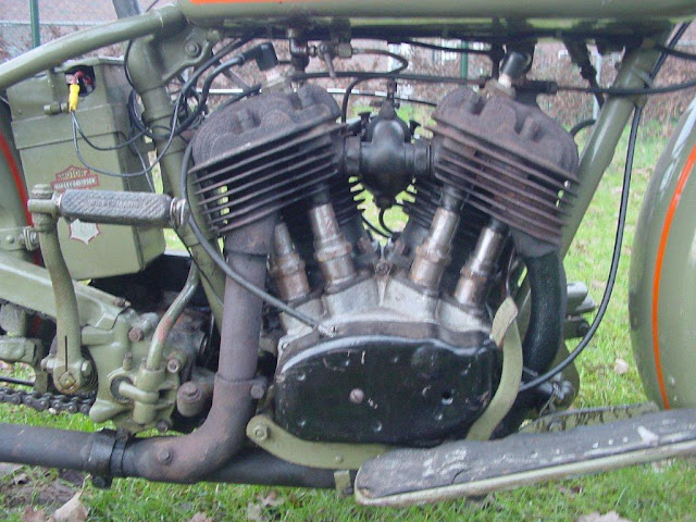 Harley Davidson Model D 1929 750cc
