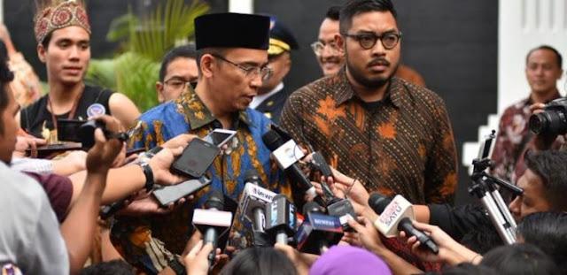 Jokowi Blak-blakan Ngaku Sudah Temui TGB tapi TGB Jawab Malu-malu