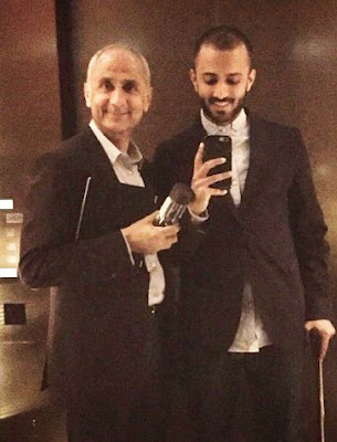 Anand Ahuja with father Harish Ahuja