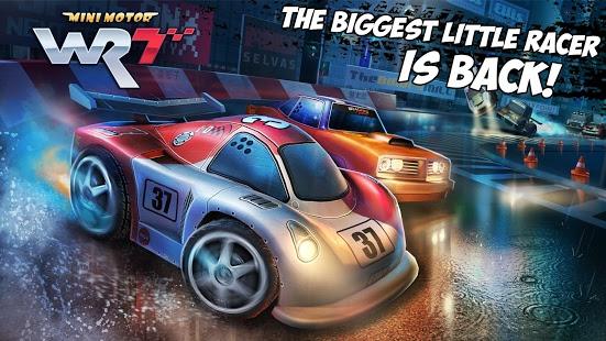 تحميل لعبة mini motor racing للاندرويد مجانا