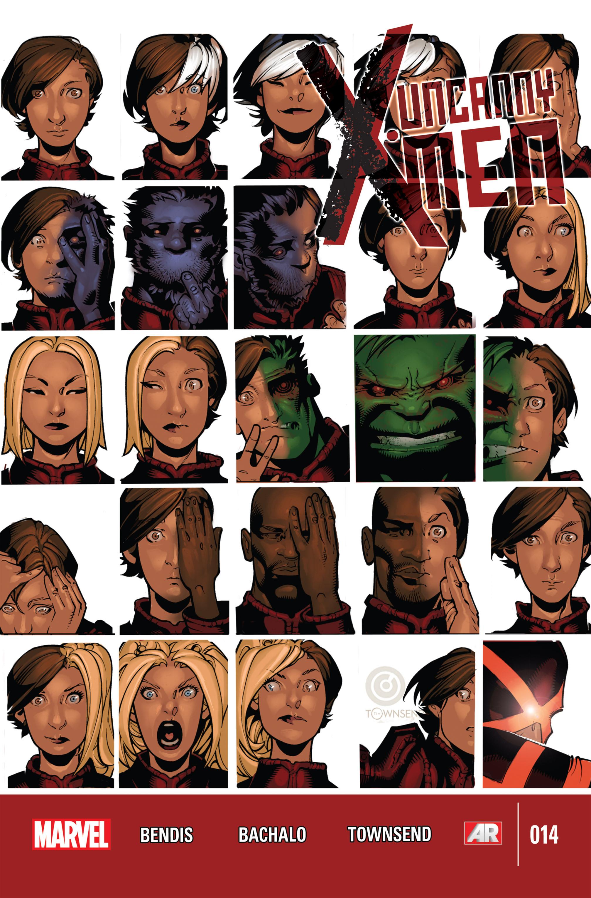 Read online Uncanny X-Men (2013) comic -  Issue #14 - 1