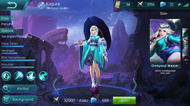 Mobile Legends : Hero Kagura ( Onmyouji Master ) High AP Build/ Set up Gear