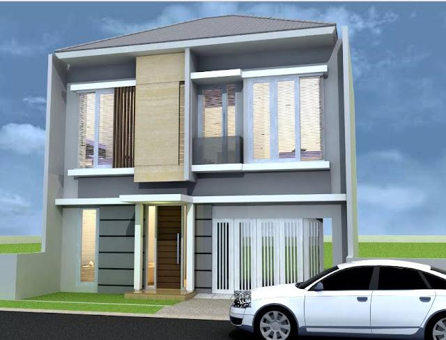 rumah minimalis 2 lantai type 21 sederhana