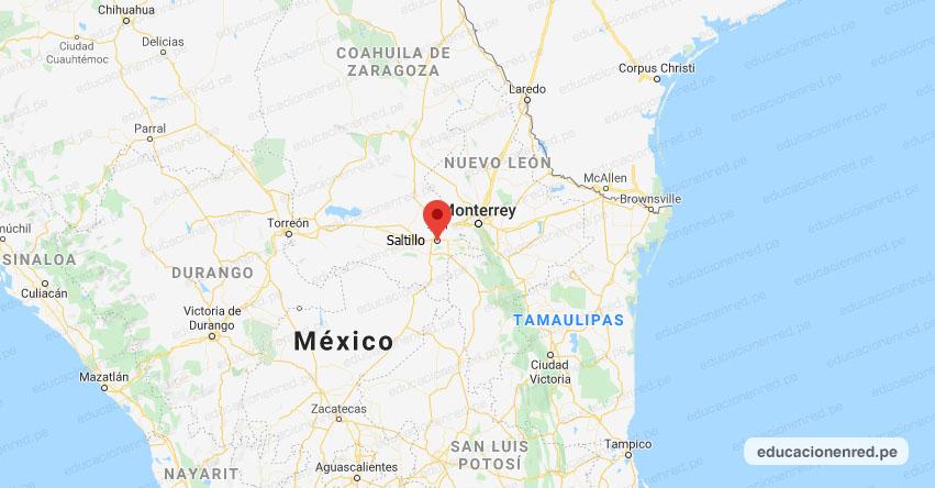 Temblor en México de Magnitud 4.5 (Hoy Martes 21 Julio 2020) Sismo - Epicentro - Saltillo - Coahuila de Zaragoza - COAH. - SSN - www.ssn.unam.mx