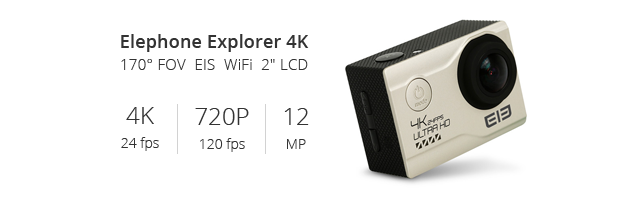 Elephone EleCam Explorer Elite 4K