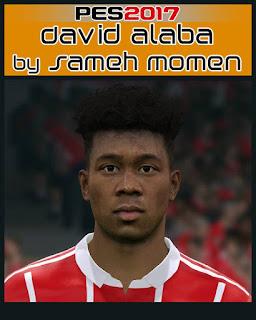 PES 2017 Faces David Alaba by Sameh Momen