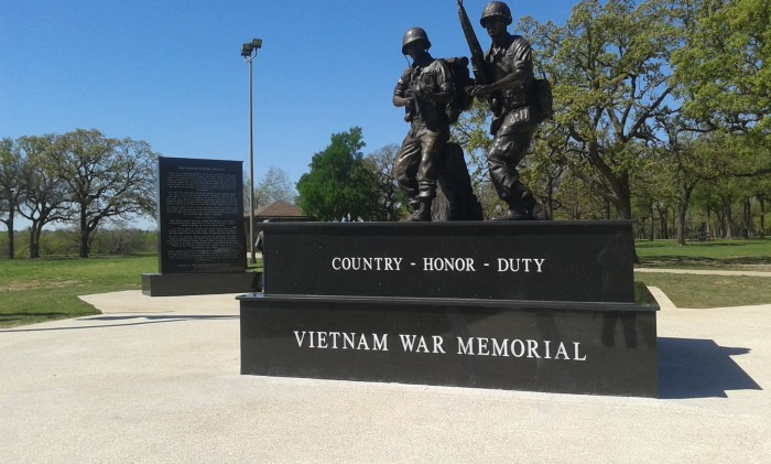 Durango Texas Veterans Park Vietnam War Memorial Thorny Spring Hike With Meatloaf