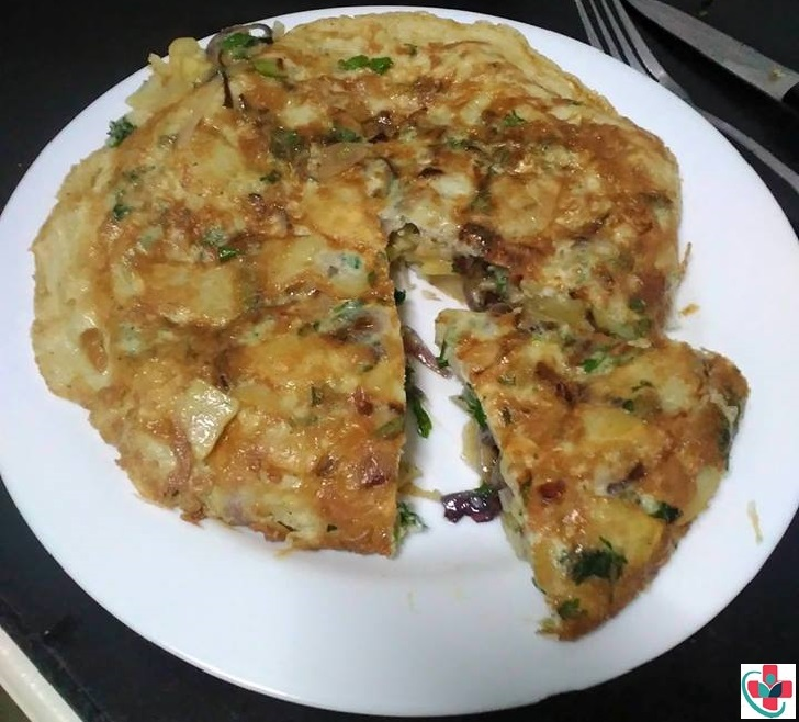 Potato and Onion Frittata Recipe