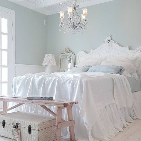 Cipria Rétro: Camere shabby chic