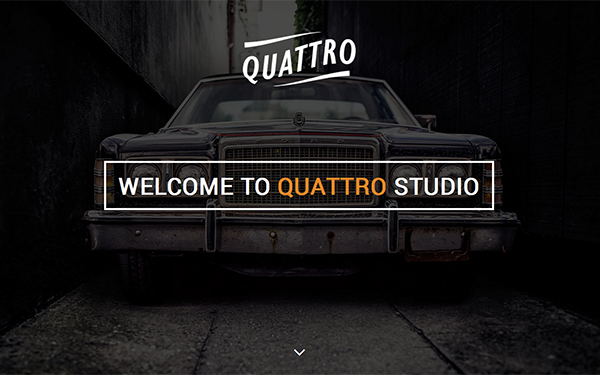 Download Quattro Elegant One Page Bootstrap Template