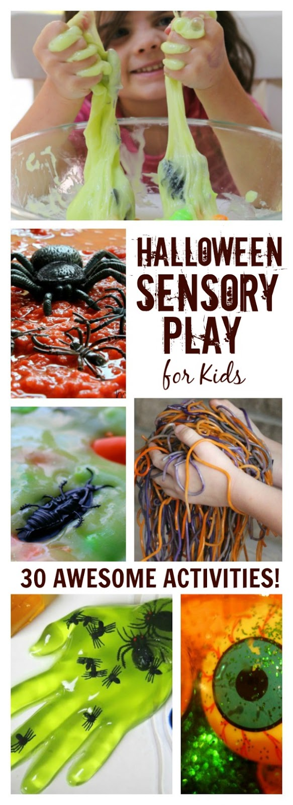 From goblin guts to ghost mud here are 30 AWESOME HALLOWEEN SENSORY ACTIVITIES FOR KIDS