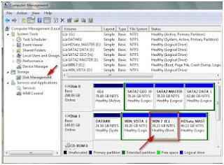 Cara membuat partisi hardisk di windows 7