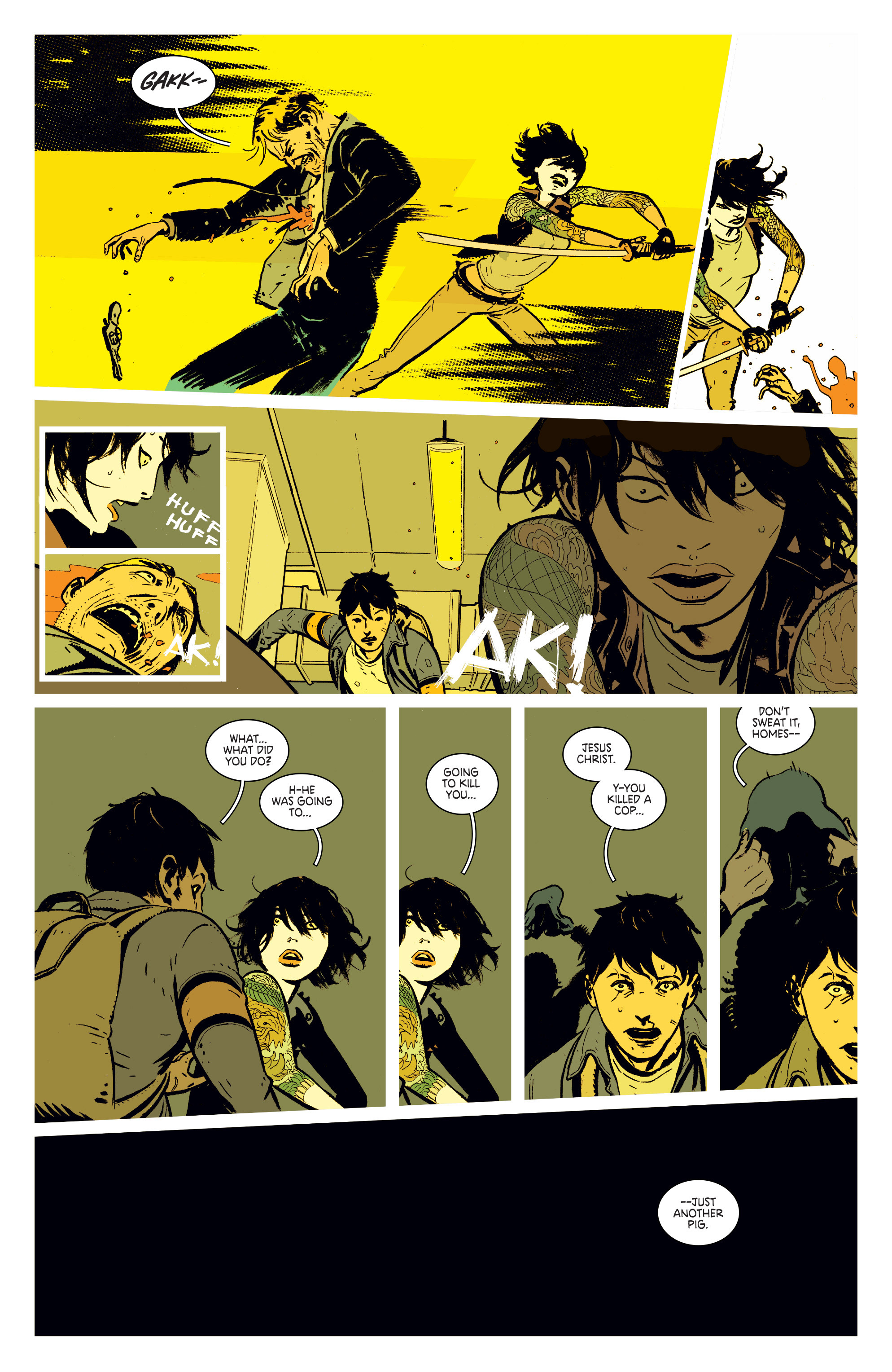 Read online Deadly Class comic -  Issue #1 - 23