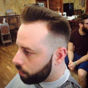 botak sebagian pompadour